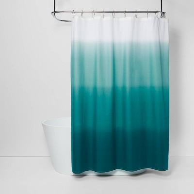 ombre shower curtain seafoam green threshold