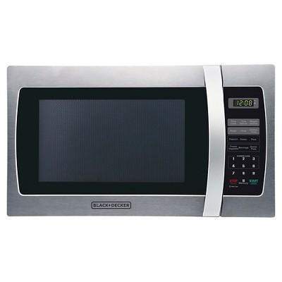 black decker 1 3 cu ft 1000 watt microwave oven