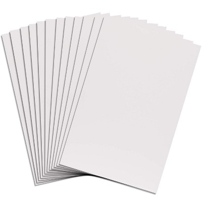 bright creations 12 pack white foam poster board styrofoam for crafts art modeling 20 x 30 in