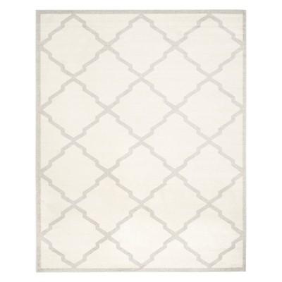 9 x12 rectangle outdoor patio rug beige light gray safavieh