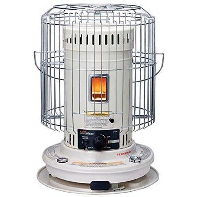 sengoku heatmate efficient 23 500 btu indoor outdoor portable convection kerosene space heater white