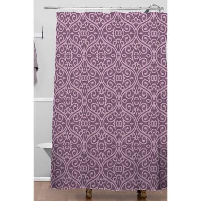 lavender shower curtains target