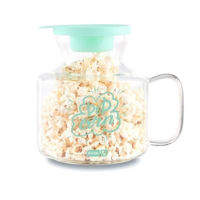 dash microwave popcorn popper aqua