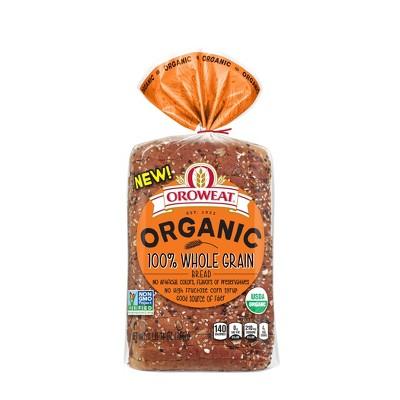 Oroweat Organic 100 Whole Grain Bread 27oz Target
