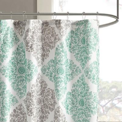 aqua shower curtain target