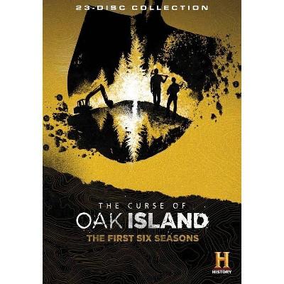 the curse of oak island the first six seasons dvd 2019