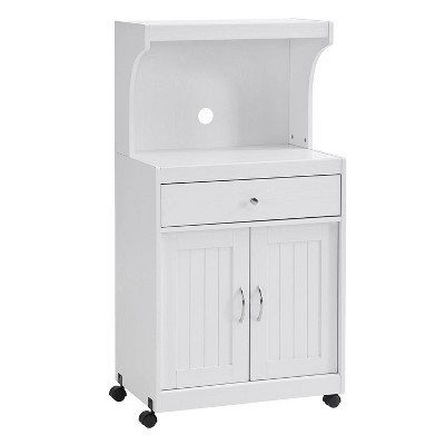 microwave cart white home source