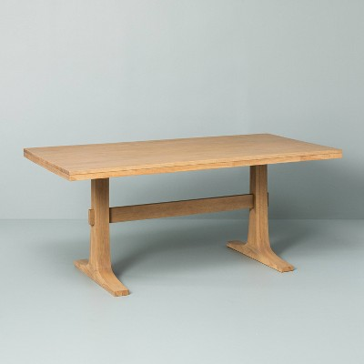wood dining table hearth hand with magnolia