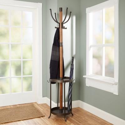 wooden coat rack umbrella stand cheaper