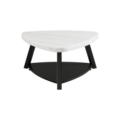 lena marble top coffee table white picket house furnishings