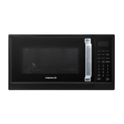 calphalon 1 3 cu ft 1000w air fry microwave oven matte black