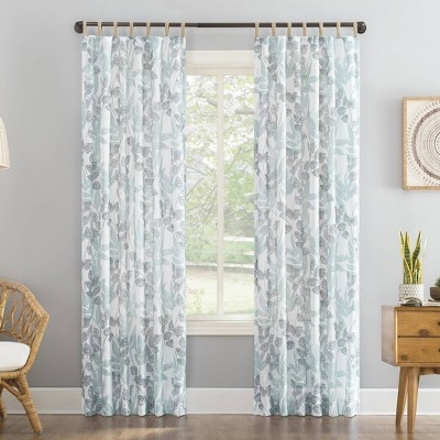 https www target com p mori botanical jute tab top sheer curtain panel no 918 a 82795414