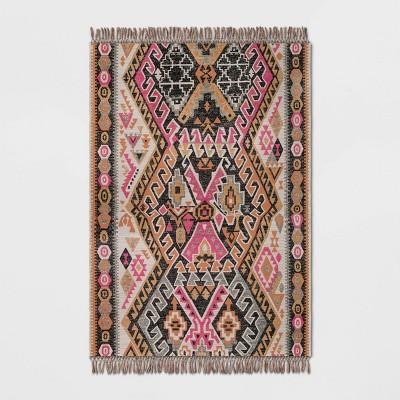 7 x 10 warm austin woven outdoor rug pink opalhouse