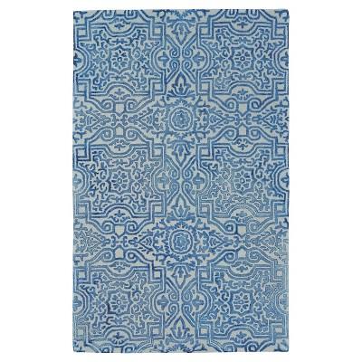 8 x11 tie dye design tufted area rugs midnight blue weave wander