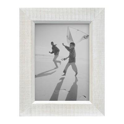 5 x 7 placeholder frame whitewashed wood threshold