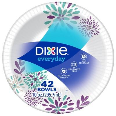 dixie everyday disposable paper bowls 42ct 10oz