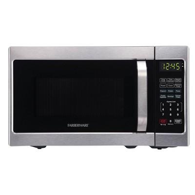 faberware 0 7 cu ft microwave oven silver