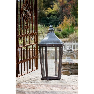 park hill collection french style mantle lantern
