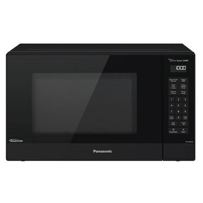 panasonic nn sn66kb intelligent genius sensor 1 2 cu ft 1200 watt countertop microwave oven w inverter technology black manufacturer refurbished