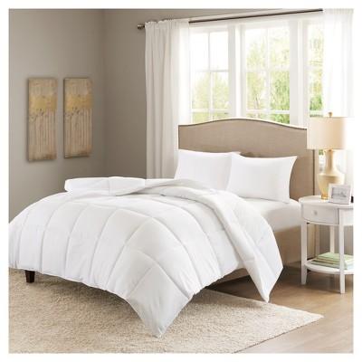 white copper microfiber down alternative comforter king california king