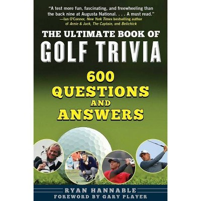 the ultimate book of golf trivia by ryan hannable paperback