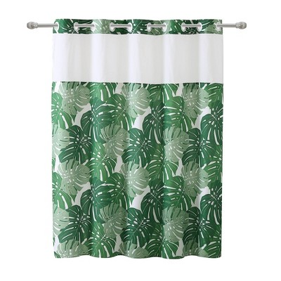 hookless stall shower curtain target