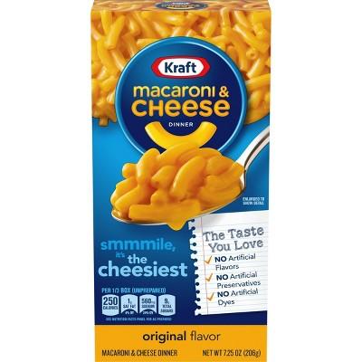 kraft macaroni cheese dinner original 7 25oz