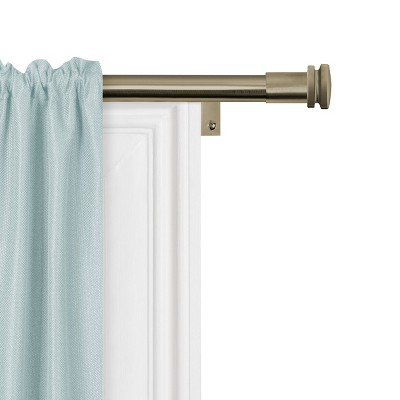 brass plated curtain rods target