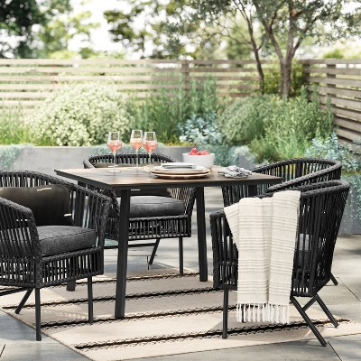 ariston 5pc patio dining set project
