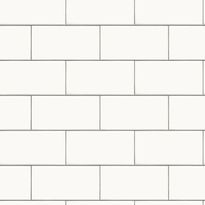 subway tile peel stick wallpaper white threshold