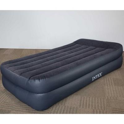 intex twin raised pillow air mattress