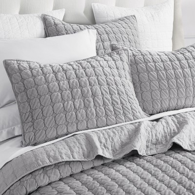 grey king pillow shams target