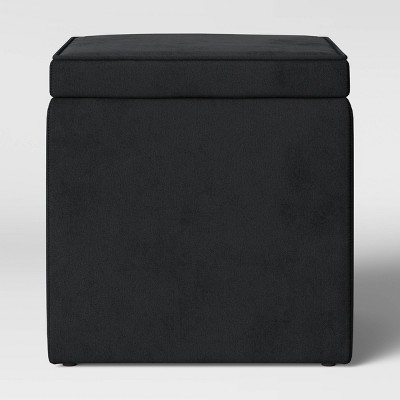 storage ottoman black room essentials
