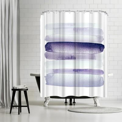 fabric shower curtain purple target