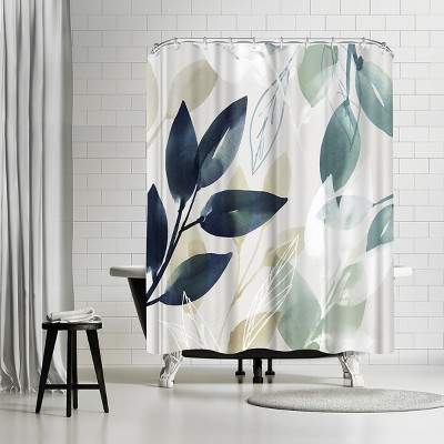 americanflat green sleeves i by pi creative art 71 x 74 shower curtain