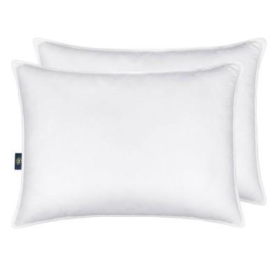 2pk down illusion medium bed pillow