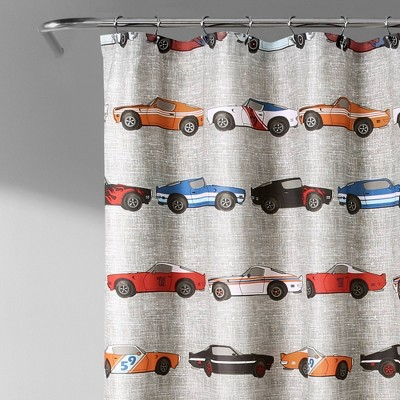 vehicles kids shower curtains target