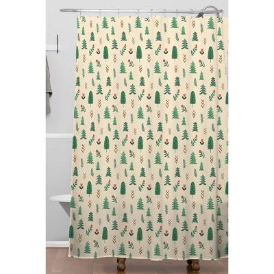 pine tree shower curtain target