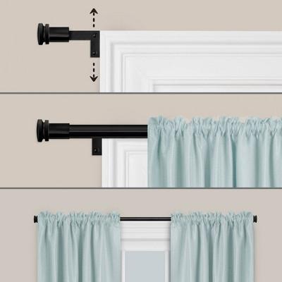 18 inch curtain rod target