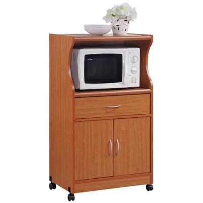 microwave kitchen cart in cherry hodedah