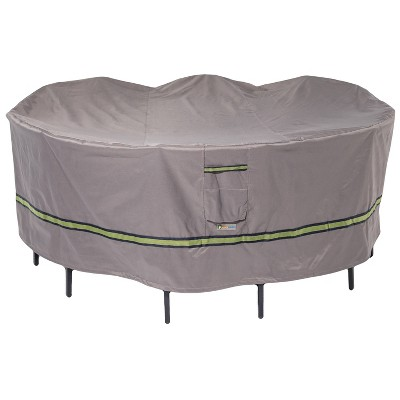 108 soteria rainproof round patio table with chairs cover duck covers