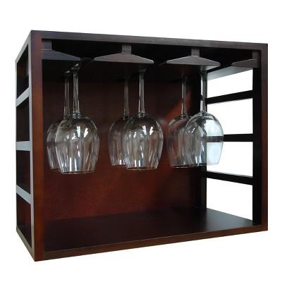 epicureanist stackable wine glass rack