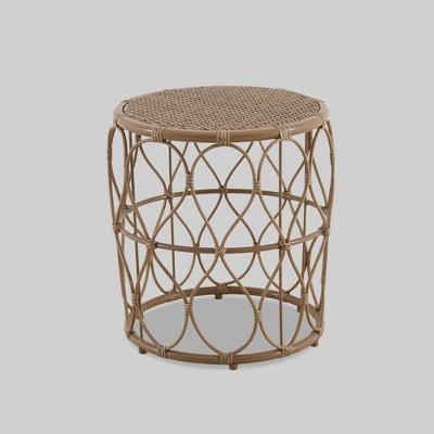 britanna patio accent table natural opalhouse