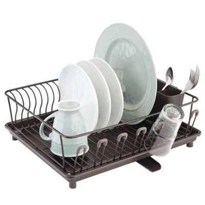kitchen dish drying racks target