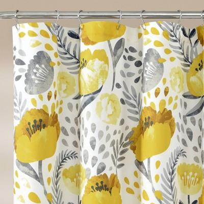 light yellow shower curtain target