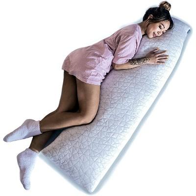 coop home goods the body pillow adjustable memory foam pillow
