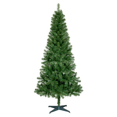 North Valley Spruce Hinged Artificial Christmas Tree 7ft