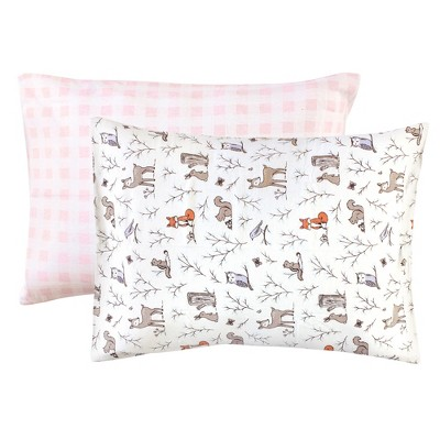 https www target com p hudson baby infant girl cotton toddler pillow case enchanted forest one size a 82727082