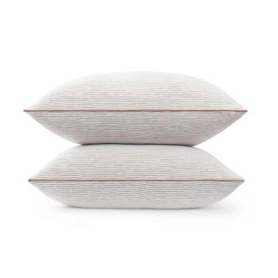 standard queen 2pk copper lux bed pillow beautyrest