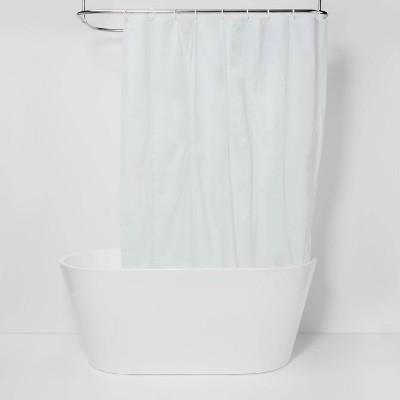 peva light weight shower liner white room essentials